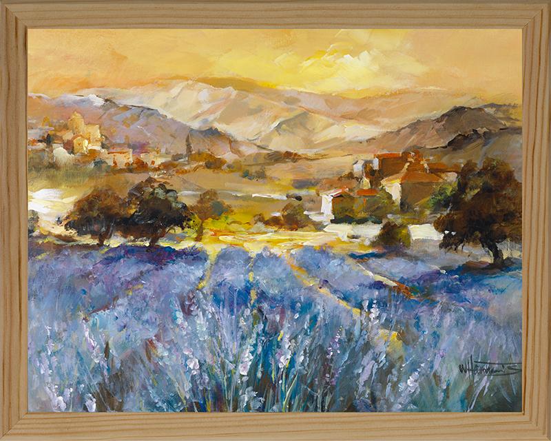 Картина Postermarket Лаванда в Провансе, 20 х 25 см. МС-19МС-19