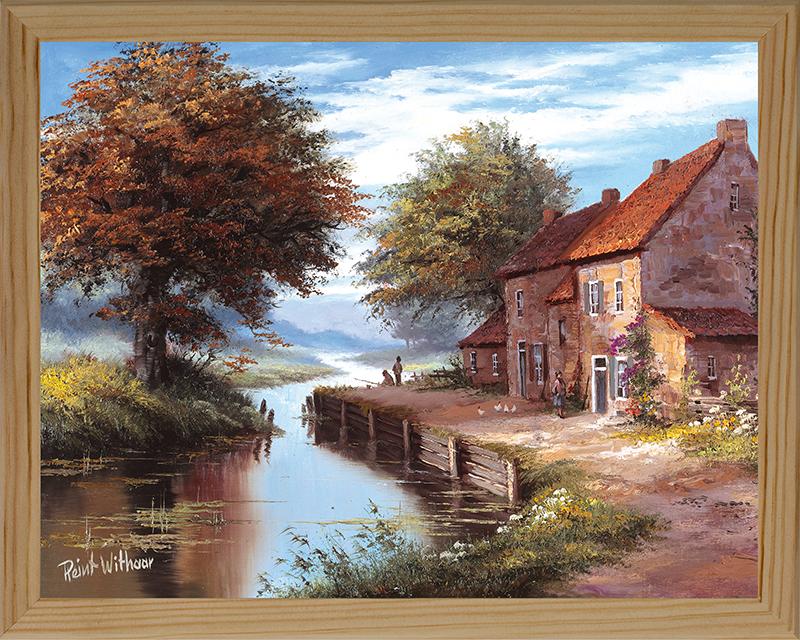 Картина Postermarket Фламандский пейзаж, 20 х 25 см. МС-18МС-18