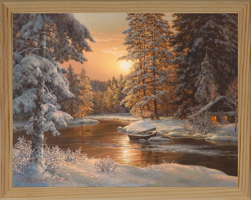 Картина Postermarket В зимнем лесу, 20 х 25 см. МС-14МС-14Картина Postermarket В зимнем лесу прекрасно подойдет для декора интерьера различных помещений. Постер, выполненный в технике фотопечать, оформлен багетом бежевого цвета. Картина для интерьера (постер) - это современное и актуальное направление в дизайне помещений. Ее можно использовать для оформления любых помещений (дом, квартира, офис, бар, кафе, ресторан или гостиница). работоспособность. Правильное оформление интерьера создает благоприятный психологический климат, улучшает настроение и мотивирует. Размер картины: 200 x 250 мм.