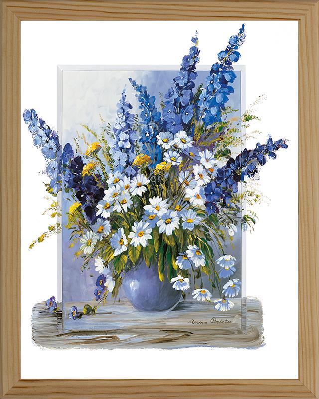 Картина Postermarket Луговые цветы, 20 х 25 см. МС-13МС-13