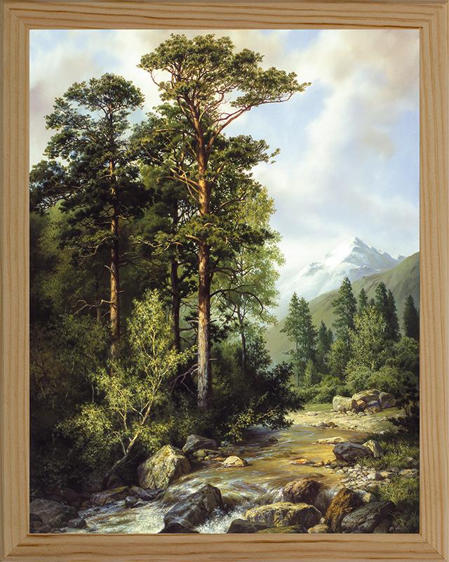 Картина Postermarket Горная река, 20 х 25 см. МС-08МС-08