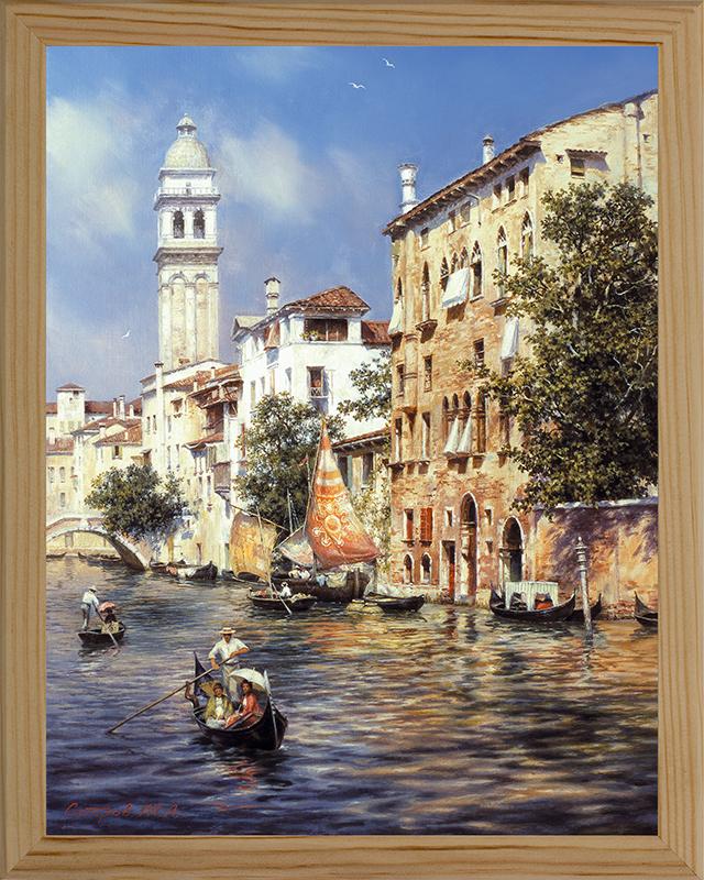 Картина Postermarket Солнечная Венеция, 20 х 25 см. МС-03МС-03