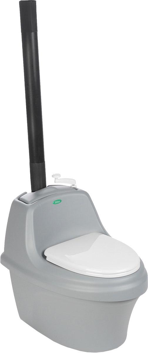 Биотуалет Piteco, цвет: серый, белый, 80 х 54 х 72 см201_серыйТорфяной биотуалет Piteco - это автономный компостирующий туалет, которому не требуется подсоединения к системе канализации и водоснабжения. Конструкция биотуалета разработана с целью создания максимально благоприятных условий для компостирования органических отходов. Изготовлен из сантехнического пластика (акрила), оснащен дренажной системой с фильтроэлементом. Размер туалета: 80 х 54 х 72 см. Высота до сиденья: 46 см. В комплекте пакет торфа объемом 30 литров для туалета.