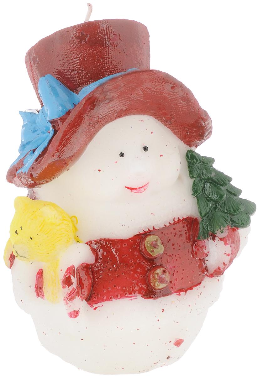 Свеча декоративная House & Holder Снеговик, высота 11 см. 10PC00110PC001Свеча House & Holder Снеговик, изготовленная из парафина, станет прекрасным украшением интерьера помещения в преддверии Нового года. Такая свеча создаст атмосферу таинственности и загадочности и наполнит ваш дом волшебством и ощущением праздника. Хороший сувенир для друзей и близких.
