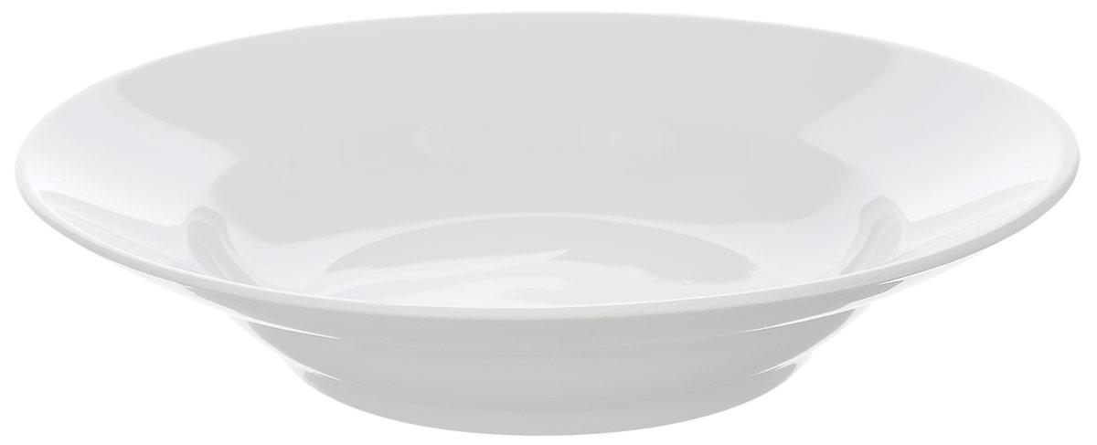 Тарелка глубокая Фарфор Вербилок, диаметр 19,5 см1587000БТарелка Фарфор Вербилок, изготовленная из высококачественного фарфора, имеет классическую круглую форму. Она прекрасно впишется в интерьер вашей кухни и станет достойным дополнением к кухонному инвентарю. Идеально подойдет для подачи супов. Тарелка Фарфор Вербилок подчеркнет прекрасный вкус хозяйки и станет отличным подарком. Диаметр тарелки (по верхнему краю): 19,5 см. Высота тарелки: 4 см.