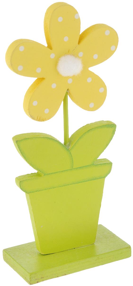 Фигурка декоративная House & Holder Пасха, высота 20,5 смDP-C24-853304Декоративная фигурка House & Holder Пасха изготовлена из дерева. Она выполнена в виде цветка в горшке. Такая фигурка будет оригинально смотреться в интерьере комнаты и станет прекрасным сувениром к любому случаю. Размер: 9 х 5 х 20,5 см.