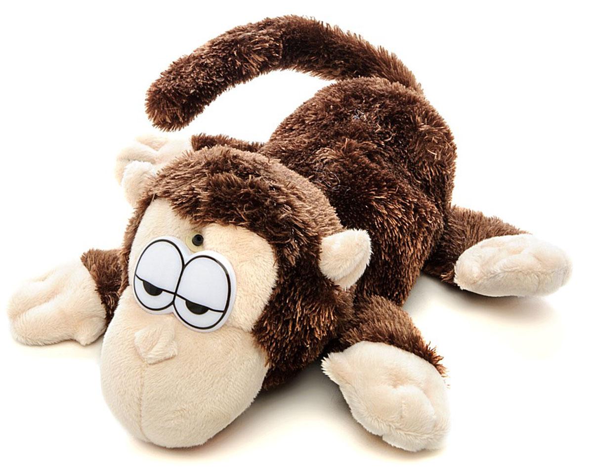 Chericole Интерактивная плюшевая игрушка Мини обезьянкаCTC-SM-9818Интерактивная плюшевая игрушка Chericole Мини обезьянка притворилась спящей! Протяните к ней руку, и она начнёт хохотать, открывать рот и кататься из стороны в сторону. Попробуйте её поймать. Интерактивная игрушка снабжена датчиком движения, реагирующим на приближение человека.
