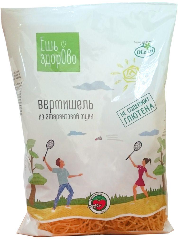 Ешь Здорово Вермишель из амарантовой муки, не содержит глютен, 250 г