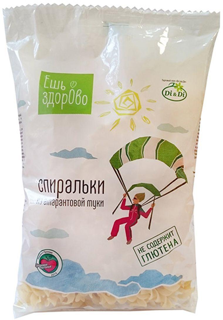 Ешь Здорово Спиральки из амарантовой муки, не содержит глютен, 250 г