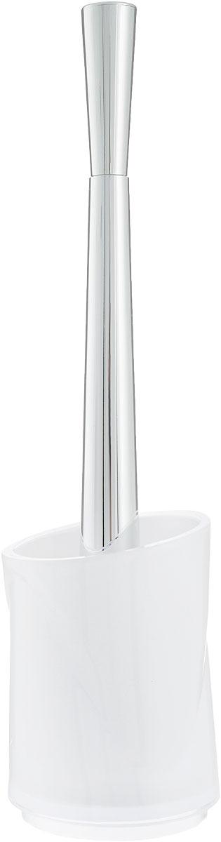 Ершик для унитаза Indecor, с подставкой, цвет: белый, высота 35 смIND031wЕршик для унитаза Indecor выполнен из пластика с жестким ворсом. Он хранится в специальной подставке. Ерш отлично чистит поверхность, а грязь с него легко смывается водой. Стильный дизайн изделия притягивает взгляд и прекрасно подойдет к интерьеру туалетной комнаты. Длина ершика (с ручкой): 35 см. Размер рабочей части ершика: 9,5 х 9,5 х 8 см. Размер подставки: 9,5 х 9,5 х 13 см.
