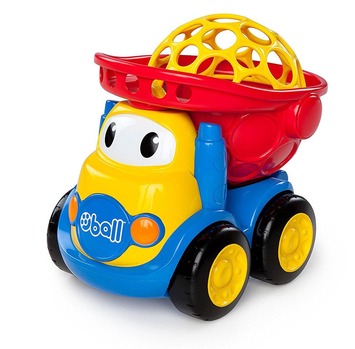 Oball Самосвал10312Самосвал Oball может стать чудесным подарком для малыша. Он привлечет внимание ребенка своими игровыми возможностями и ярким цветом. Игрушка выполнена из качественных материалов, гарантирующих ее долговечность. Ребенок сможет самостоятельно переносить машинку, ведь она имеет оптимальный для малыша размер. У самосвала откидывается кузов, оснащенный крышечкой. Малыш сможет перевозить грузы в кузове машинки, а крышечка не позволит игрушкам высыпаться из него. Крышечку можно снимать. Она выполнена в виде купола и имеет множество отверстий. Ребенок сможет снять купол самостоятельно, просунув пальчики в отверстия. Машинка отлично катится по поверхности, поэтому малышу будет легко управлять этим самосвалом. На лобовом стекле кузова машинки нарисованы стилизованные глазки.