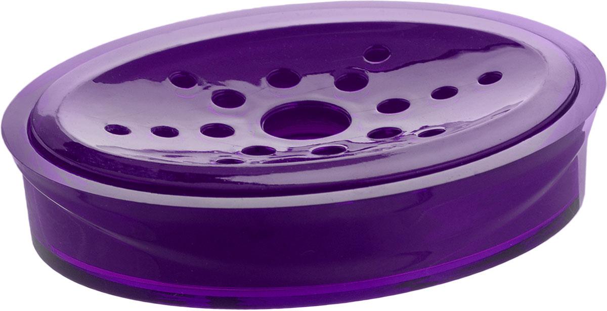 Мыльница Indecor, цвет: фиолетовый, 11,5 х 9 х 3 смIND017pОвальная мыльница Indecor изготовлена из высококачественного пластика. Особая конструкция позволяет мылу не таять. Легко чистится. Такая мыльница прекрасно подойдет для ванной комнаты или кухни. Мыльница Indecor создаст особую атмосферу уюта и максимального комфорта в ванной. Размер мыльницы: 11,5 х 9 х 3 см.
