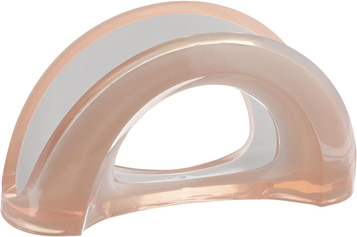 Салфетница Indecor, цвет: бежевый, 18 х 6 х 10 смIND005bОригинальная салфетница Indecor выполнена из высококачественного пластика. Изделие великолепно украсит праздничный или обеденный стол. Дизайн придется по вкусу и ценителям классики, и тем, кто предпочитает утонченность и изысканность. Размер салфетницы: 18 х 6 х 10 см.