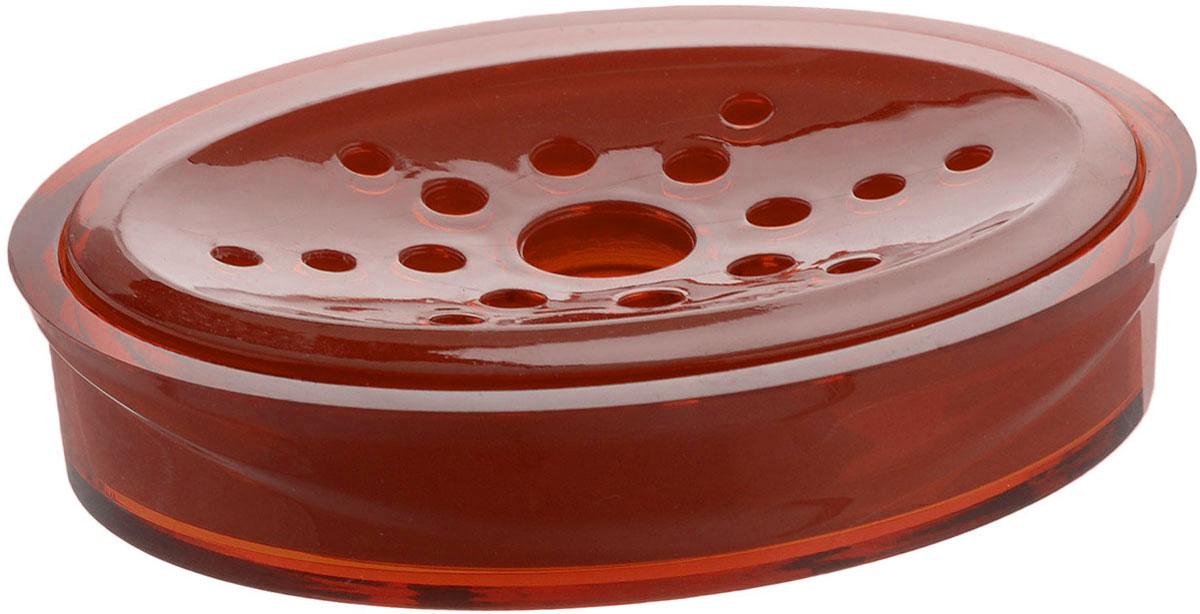 Мыльница Indecor, цвет: коричневый, 11,5 х 9 х 3 смIND017cОвальная мыльница Indecor изготовлена из высококачественного пластика. Особая конструкция позволяет мылу не таять. Легко чистится. Такая мыльница прекрасно подойдет для ванной комнаты или кухни. Мыльница Indecor создаст особую атмосферу уюта и максимального комфорта в ванной. Размер мыльницы: 11,5 х 9 х 3 см.