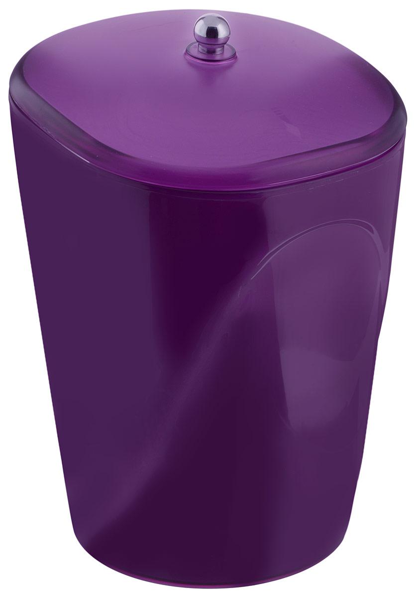 Ведро для мусора Indecor, с крышкой, цвет: фиолетовый, 5 лIND032pГлянцевое ведро для мусора Indecor, выполненное из высококачественного износостойкого пластика, оснащено крышкой. Ведро подходит для использования в ванной комнате или на кухне. Стильный дизайн и яркая расцветка прекрасно подойдет для любого интерьера ванной комнаты или кухни. Размер ведра: 20 х 20 х 26,5 см. Объем ведра: 5 л.