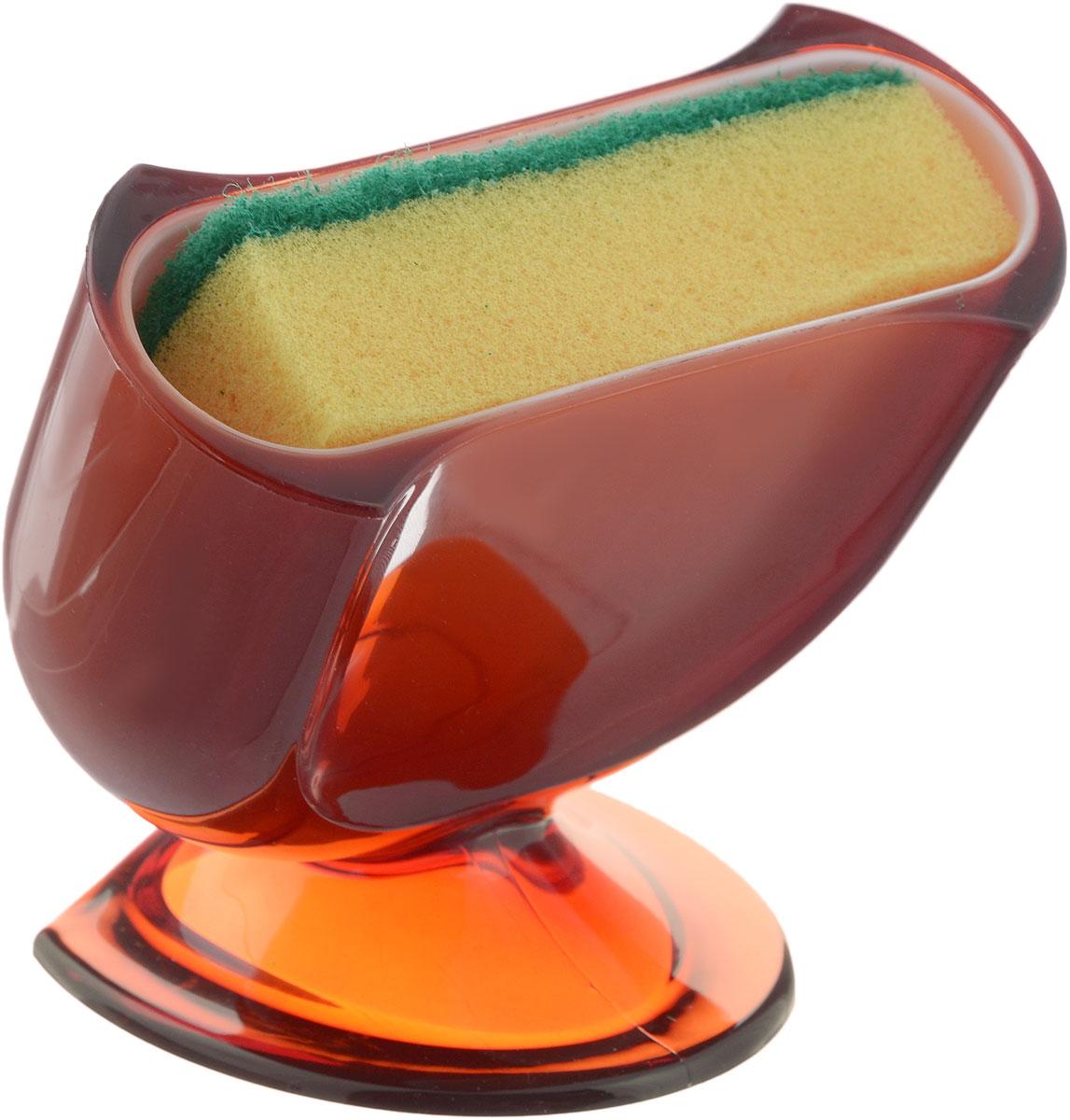Подставка для губки Indecor, с губкой, цвет: коричневый, 11,5 х 8 х 10 смIND021cПодставка для губки Indecor выполнена из пластика. Она сохранит порядок и чистоту вокруг раковины. Очень удобна в использовании. Также в комплект входит поролоновая губка. Подставка для губки Indecor - интересное и оригинальное украшение вашей кухни. Размер подставки: 11,5 х 8 х 10 см. Размер губки: 9,5 х 2,5 х 5,5 см.