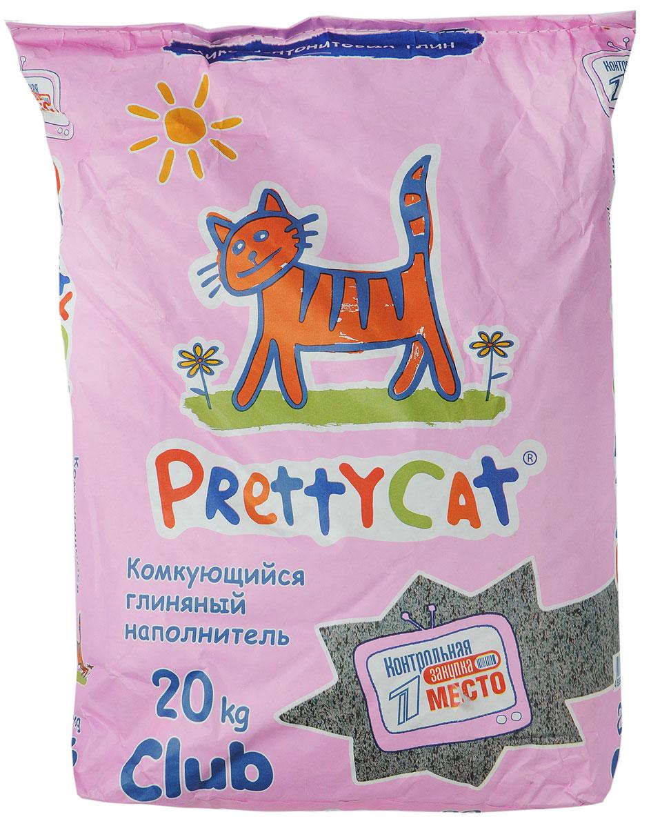 """Наполнитель для кошачьих туалетов PrettyCat """"Euro Mix"""", комкующийся, 20 кг"""