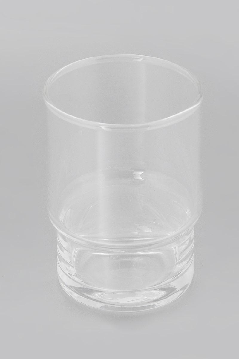 Стакан для зубных щеток Grohe Essentials, цвет: прозрачный, высота 9 см40372001Стакан для зубных щеток Grohe Essentials изготовлен из стекла и отлично подойдет для вашей ванной комнаты. Классический дизайн изделия прекрасно подойдет к интерьеру любой ванной комнаты. Размер стакана: 9 х 6,5 х 6,5 см. УВАЖАЕМЫЕ ПОКУПАТЕЛИ! Обращаем ваше внимание на тот факт, что держатель в комплект не входит и приобретается отдельно.