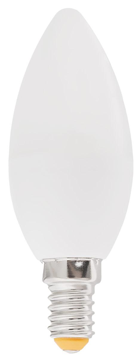Лампа светодиодная Kosmos, теплый свет, цоколь E14, 5-40W, 220VLED5wCNE1430Светодиодная лампа Kosmos является самым перспективным источником света. Основным преимуществом данного источника света является длительный срок службы и очень низкое энергопотребление, так, например, по сравнению с обычной лампой накаливания светодиодная лампа служит в среднем в 30 раз дольше и экономит 90% электроэнергии. Модель: LED5wCNE1430. Тип лампы: CN. Мощность: 5 Вт. Цветность: 3000 К (теплый белый цвет). Цоколь: Е14. Номинальное напряжение: 220-240 В. Номинальная чистота: 50/60 Гц. Рабочий ток: 0,043 А. Световой поток: 400 лм. Стабильная работа: от -40°С до +40°С. Срок службы: 30000 ч. Угол рассеивания: 270°. Уважаемые клиенты! Обращаем ваше внимание на возможные изменения в дизайне упаковки. Качественные характеристики товара остаются неизменными. Поставка осуществляется в зависимости от наличия на складе.
