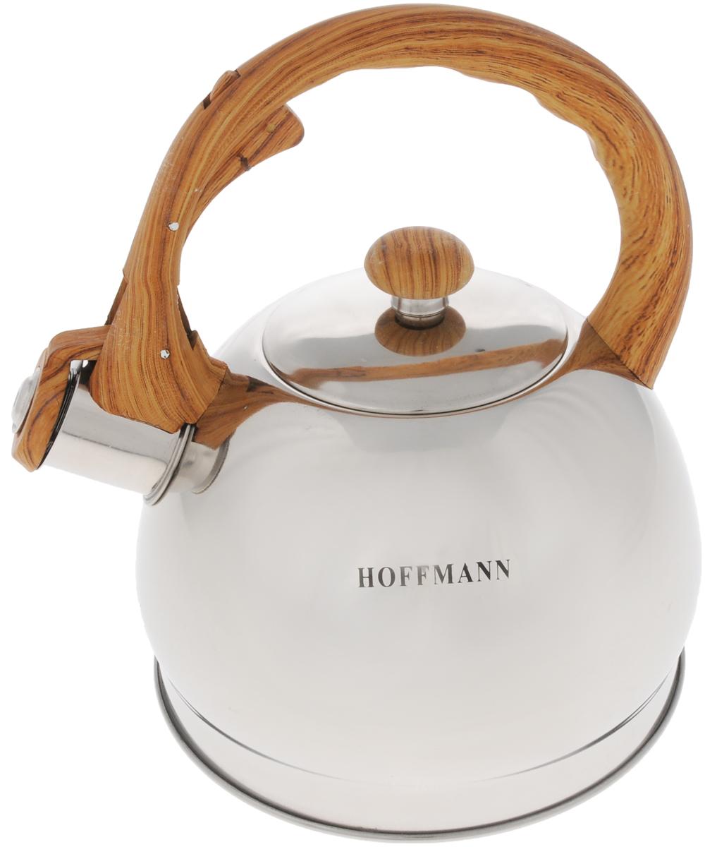 Чайник Hoffmann, со свистком, 2,1 л. НМ 5550НМ 5550