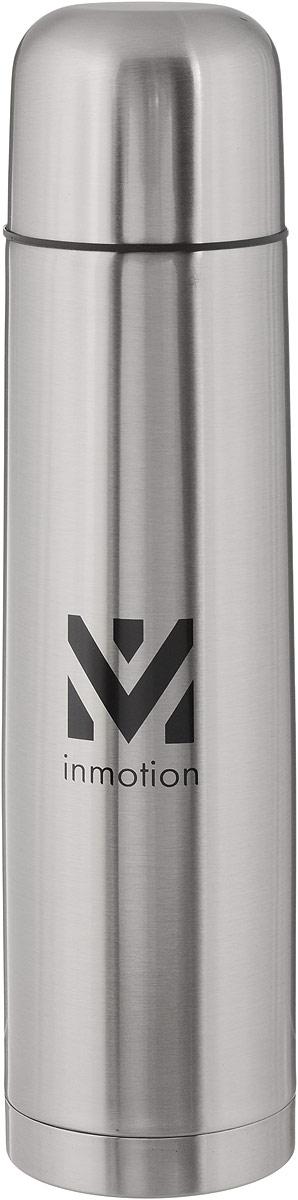 Термос Airline, цвет: металлик, черный, 1 лIT-05Термос Airline выполнен из качественной нержавеющей стали, которая не вступает в реакцию с содержимым термоса и не изменяет вкусовых качеств напитка. Двойная стенка из нержавеющей стали сохраняет температуру ваших напитков до 20 часов. Вакуумный закручивающийся клапан предохраняет от проливаний, а удобная кнопка-дозатор избавит от необходимости каждый раз откручивать крышку. Крышку можно использовать как чашку. Данная модель термоса прочная, долговечная и в тоже время легкая. Изделие упаковано в удобный чехол. Стильный металлический термос понравится абсолютно всем и впишется в любой интерьер кухни. Не рекомендуется мыть в посудомоечной машине. Диаметр горлышка: 5 см. Диаметр основания термоса: 8 см. Высота термоса: 31 см.