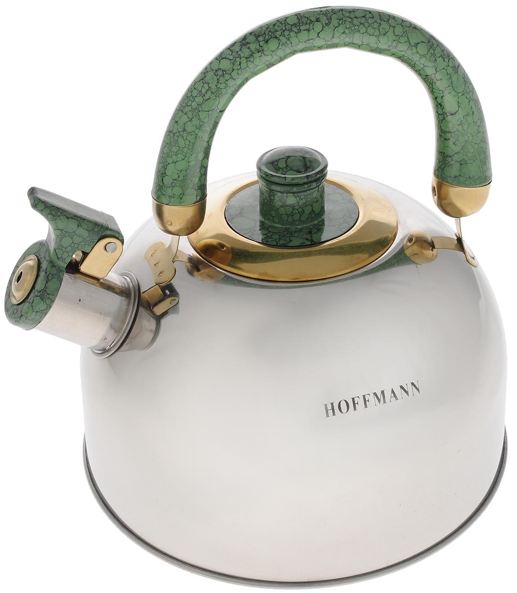Чайник Hoffmann, со свистком, 2,5 л. НМ 5520-2НМ 5520-2