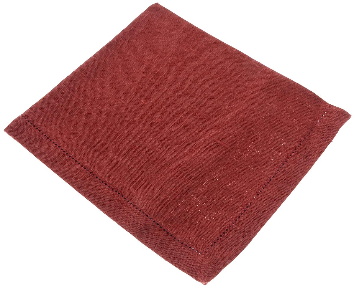 Салфетка для сервировки стола Гаврилов-Ямский Лен, цвет: бордовый, 42 х 42 см10со1970_бордовыйСалфетка Гаврилов-Ямский Лен, выполненная из натурального льна, является незаменимым элементом праздничной сервировки. Лён - поистине уникальный, экологически чистый материал. Изделия из льна обладают уникальными потребительскими свойствами. Салфетка из натурального льна придаст вашему дому уют и тепло.