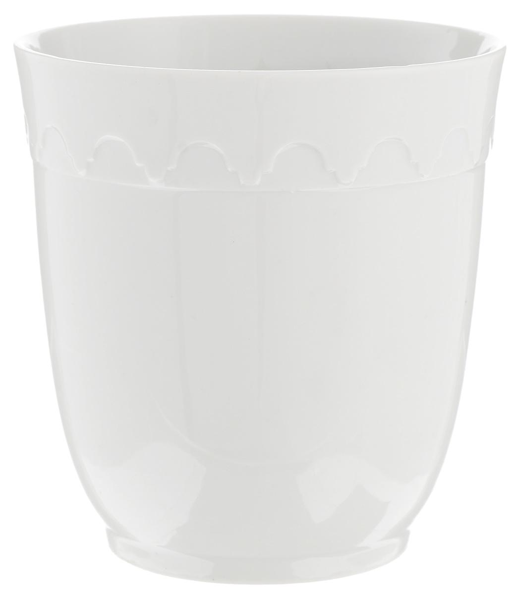 Кружка Фарфор Вербилок Арабеска, без ручки, 250 мл1129000БКружка Фарфор Вербилок Арабеска способна скрасить любое чаепитие. Изделие выполнено из высококачественного фарфора. Посуда из такого материала позволяет сохранить истинный вкус напитка, а также помогает ему дольше оставаться теплым. Диаметр по верхнему краю: 8 см. Высота кружки: 9 см.
