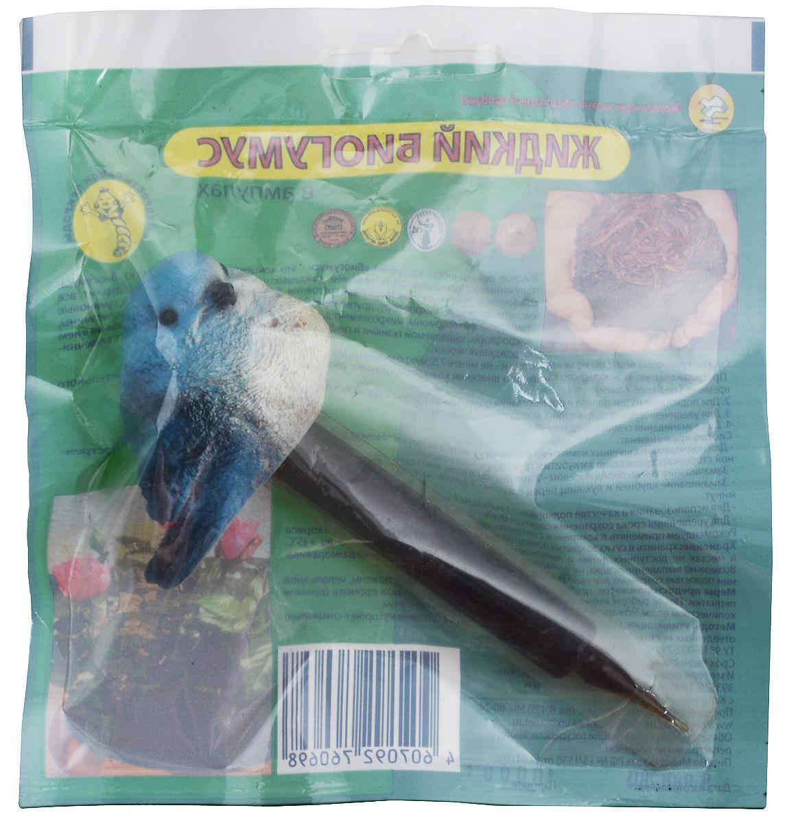 Удобрение Поля Русские Биогумус, в ампулах, цвет: голубой, 10 мл681_голубойЖидкое органическое удобрение Поля Русские Биогумус - это концентрированная вытяжка из биогумуса, полученного промышленной популяцией дождевых червей. Жидкое удобрение содержит все компоненты биогумуса в растворенном состоянии, биологически активные вещества, гуминовые кислоты, полезную микрофлору, другие метаболиты дождевых червей, аминокислоты, витамины, природные фитогормоны, микроэлементы. Эффект удобрения достигается за счет наличия в нем микрофлоры, выделяемой тканями и симбиотными микроорганизмами, находящимися в кишечнике дождевых червей. Удобрение предназначено для: - подкормки путем полива и опрыскивания овощных, цветочных и других культур, - увеличение срока сохранения свежесрезанных цветов, - замачивание семян перед посевом. Биогумус находится в пластиковой ампуле, которая украшена декоративным наконечником в виде птички. Состав: гуминовые вещества - не менее 3 г/л, pH - не менее 7,5, микроэлементы: Mg, Fe, B, Mn, Cu, Mo, Zn. ...