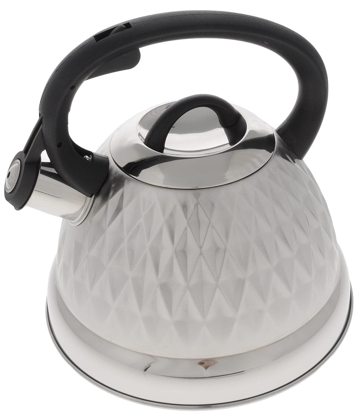 Чайник Hoffmann, со свистком, 3 л. НМ 5542НМ 5542