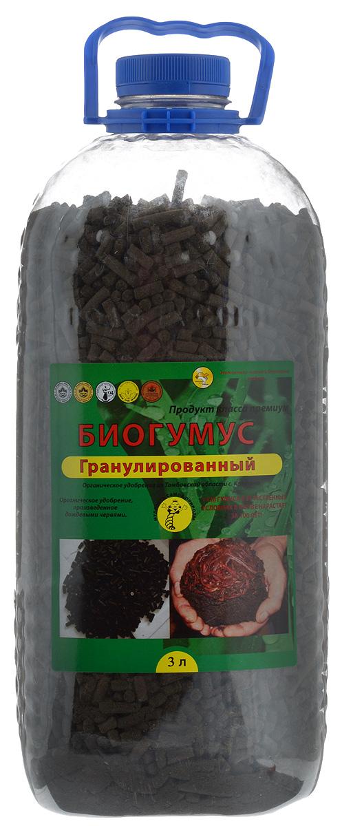 """Удобрение Поля Русские """"Биогумус"""", гранулированное, 3 л 1411"""