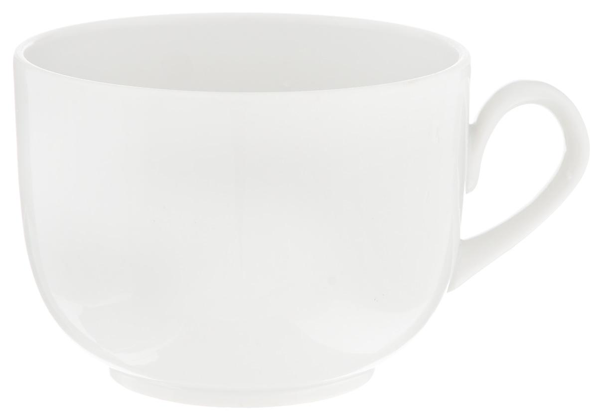 Чашка чайная Фарфор Вербилок Август, 300 мл74700БЧайная чашка Фарфор Вербилок Август способна скрасить любое чаепитие. Изделие выполнено из высококачественного фарфора. Посуда из такого материала позволяет сохранить истинный вкус напитка, а также помогает ему дольше оставаться теплым. Диаметр по верхнему краю: 8,5 см. Высота чашки: 6,5 см.