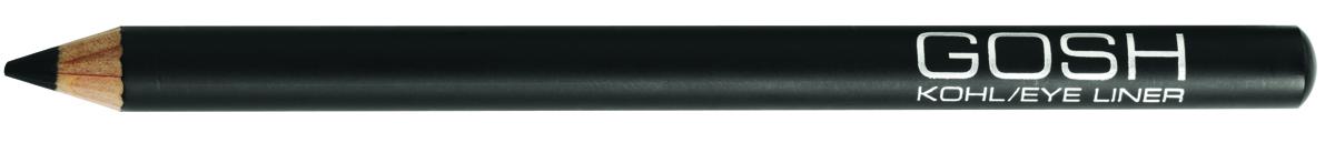 Gosh, Карандаш для глаз Kohl, 1,1 г, черный59386Изысканный контур-кайял для глаз, который обеспечивает равномерное нанесение и великолепный результат.