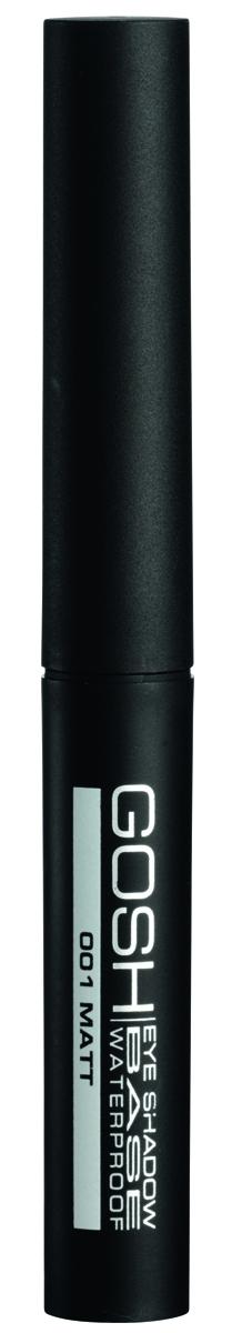 Gosh, Основа под макияж для век Eyeshadow Base Waterproof водостойкая, 2,5 мл701055Водостойкая матовая база под тени идеально подойдет для любого вида теней. Мягкая шелковистая текстура легко распределяется и значительно продлевает стойкость теней, а также придает им водостойкий эффект ПРЕИМУЩЕСТВА: Делает тени водостойкими Идеальная база под все виды сухих теней Не требует затачивания Без консервантов Без отдушек и парабенов