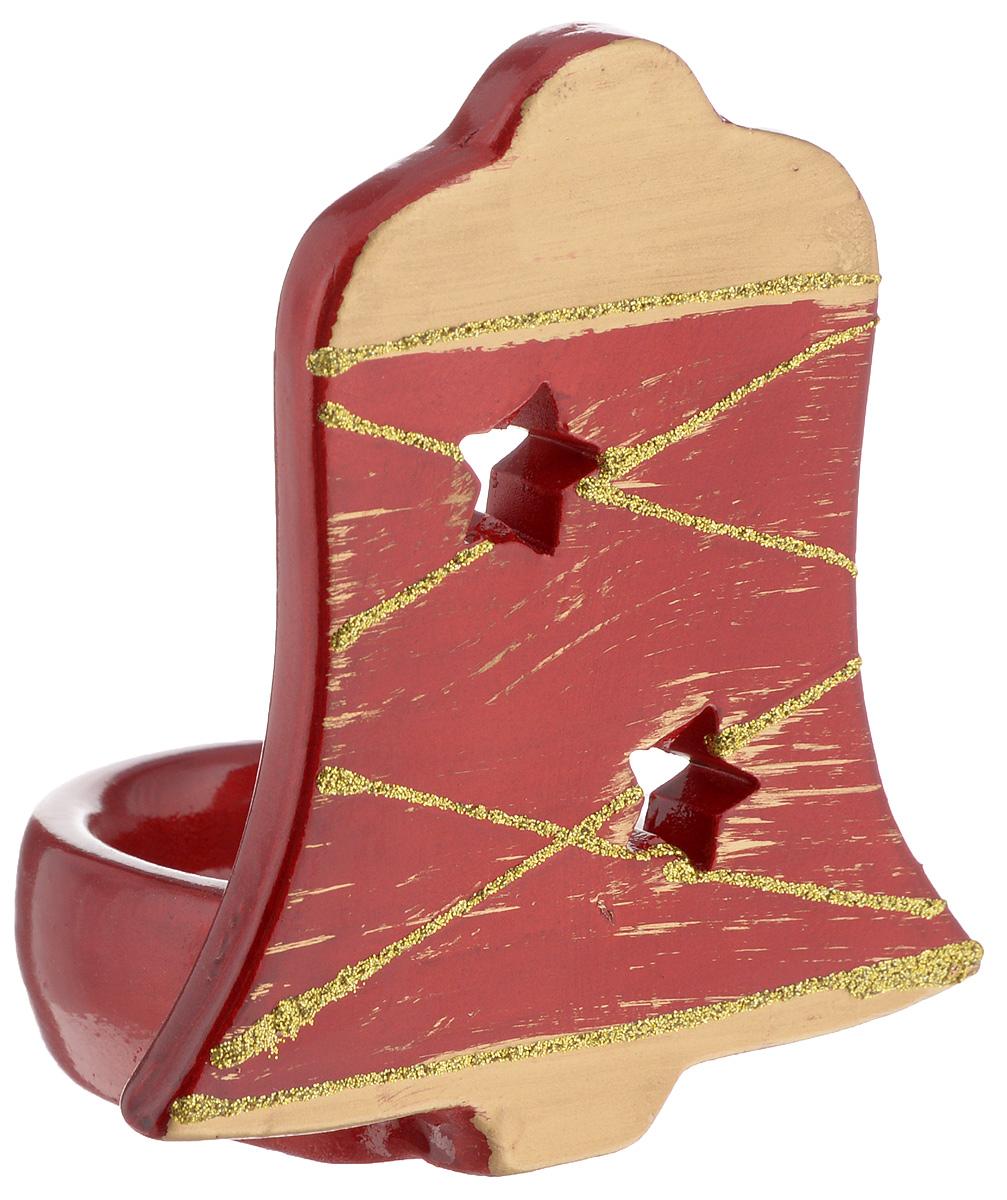Подсвечник House & Holder, высота 10,5 смDHS12260-4DПодсвечник House & Holder, выполненный из керамики, украсит интерьер вашего дома или офиса. Оригинальный дизайн создаст праздничное настроение. Подсвечник выполнен в форме колокольчика и украшен блестками. Вы можете поставить подсвечник в любом месте, где он будет удачно смотреться, и радовать глаз. Кроме того - это отличный вариант подарка для ваших близких и друзей.
