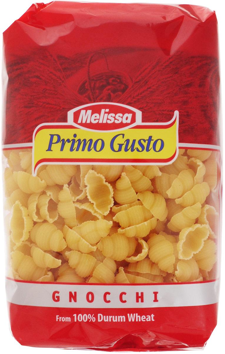 Melissa-Primo Gusto Паста Гнохи, 500 г14.0006Этот вид макаронных изделий крайне популярен в Средиземноморской кухне. Пасты Melissa-Primo Gusto изготовлены из муки грубых сортов, что делает макаронные изделия полезными и безопасными для фигуры. Такие макароны можно употреблять даже при строгой диете. Паста имеет светлый оттенок, как в сыром, так и в готовом виде, и сохраняет идеальную текстуру при приготовлении. Варить макароны 10-11 минут.