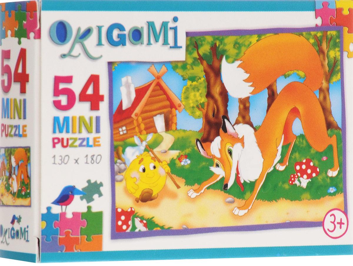 Оригами Пазл для малышей Колобок 4101_1
