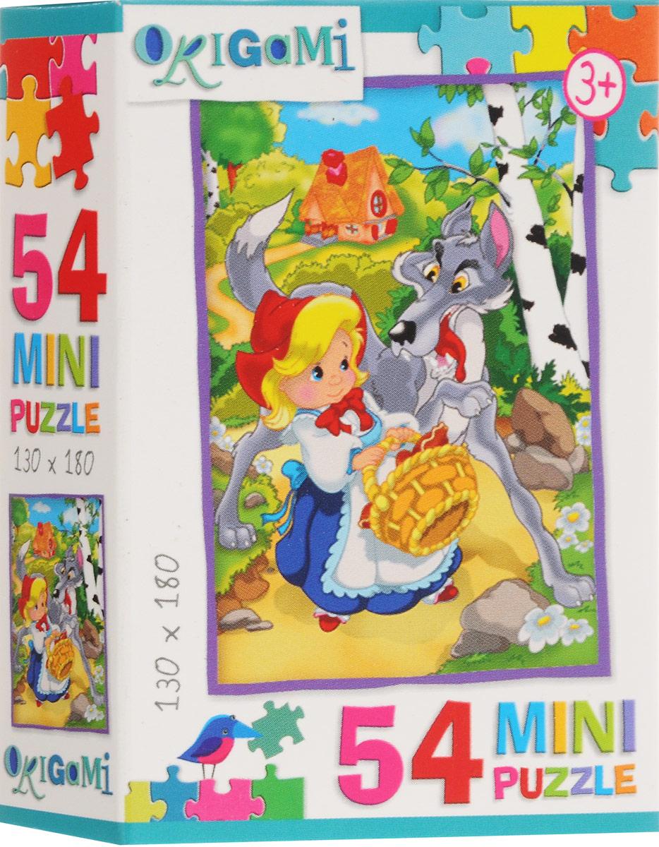 Оригами Пазл для малышей Красная шапочка