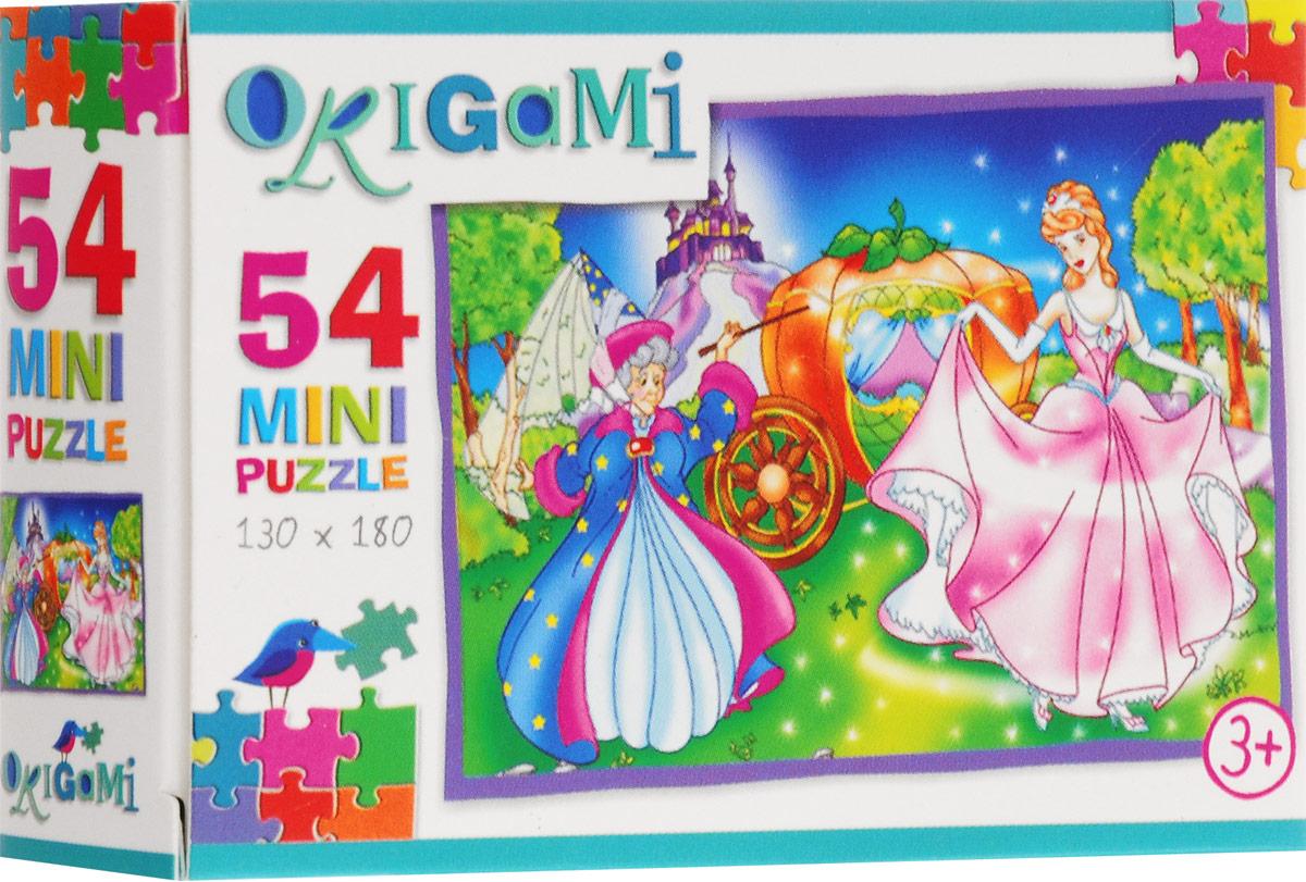 Оригами Пазл для малышей Золушка
