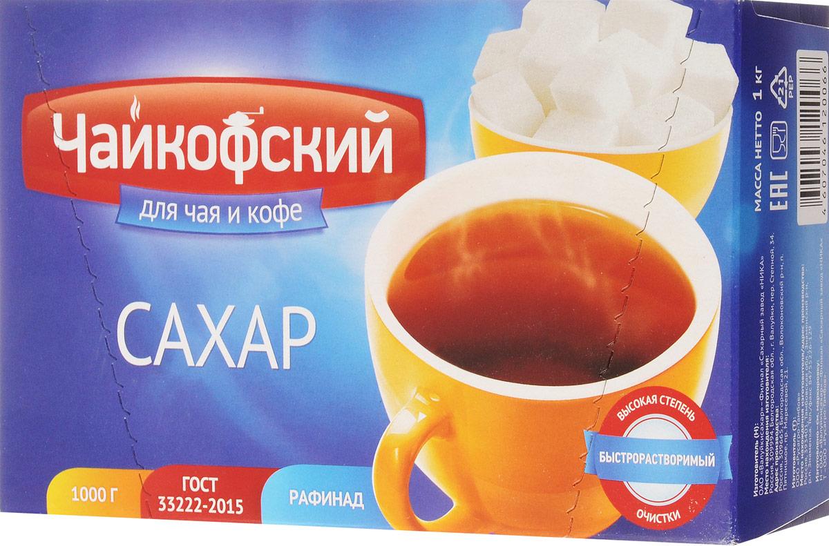Чайкофский сахар-рафинад быстрорастворимый, 1 кг