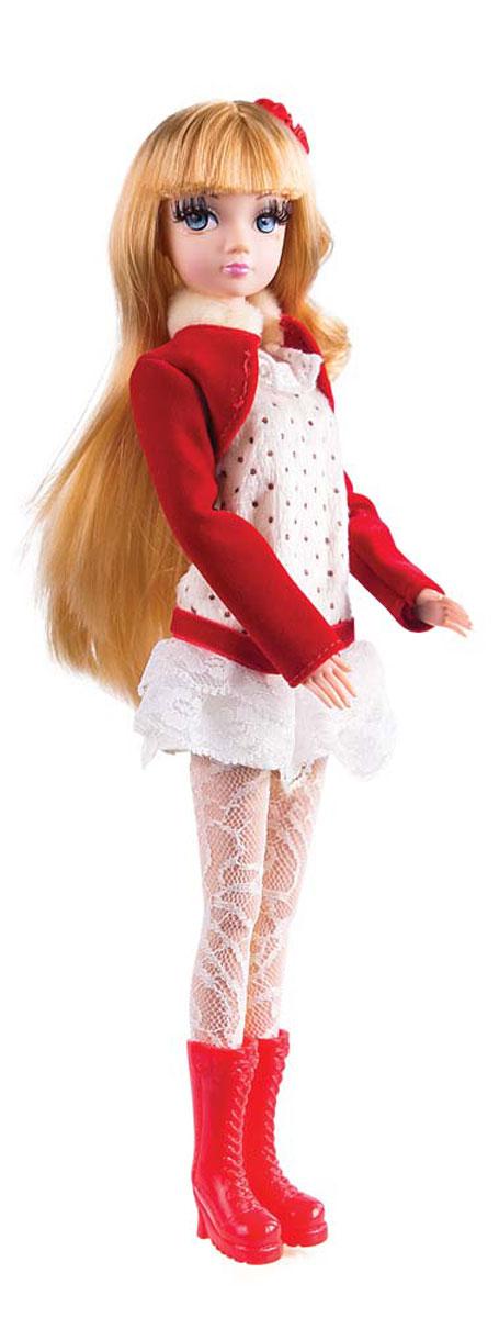 Sonya Rose Кукла Daily Collection в красном болероR4329NКукла Sonya Rose Daily Collection выполнена в виде красивой стройной девушки - блондинки с шикарными волосами и тонкими чертами лица. Одета куколка с нарядное белое платье с заниженной талией и красным поясом. Поверх платья надето красное болеро с длинным рукавом и сапожки на каблучке в тон. Дополнительные аксессуары в виде зеркальца, маленькой сумочки и ноутбука позволят девочкам придумать интересные сюжеты для игры. Черты лица аккуратно прорисованы, пушистые ресницы придают глазам особую выразительность. Аккуратный макияж подчеркивает индивидуальность куклы. Благодаря подвижным частям тела, кукла может принимать различные позы во время игры. Куколка имеет компактные размеры, благодаря чему ее не составит труда взять с собой в гости или в детский сад. С куклой можно придумать увлекательные сюжетно-ролевые игры. Играя с куклами, девочки развивают воображение и фантазию, тренируют моторику рук. Кукла выполнена из качественного пластика и текстиля с тщательной и подробной...