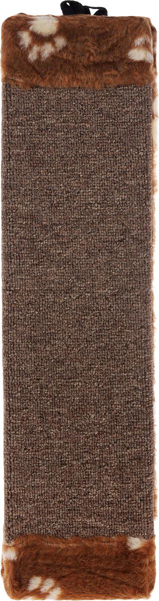 Когтеточка Elite Valley, угловая, цвет: бежевый, коричневый, 51 х 25 х 3 смКТ-4_бежевый, коричневыйУгловая когтеточка с пропиткой Elite Valley предназначена для стачивания когтей вашей кошки и предотвращения их врастания. Волокна ковролина обеспечивает естественный уход за когтями питомца. Когтеточка позволяет сохранить неповрежденными мебель и другие предметы интерьера. Такая когтеточка может крепиться на смежных поверхностях стен и пола.