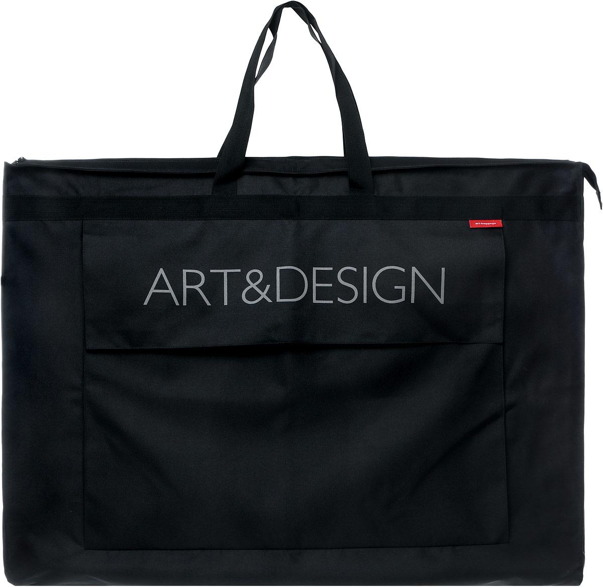 Сумка для подрамников Аntan Art&Design, цвет: черный. 6-1046-104Сумка для подрамников Аntan Art&Design выполнена из высококачественного полиэстера и оформлена фирменной надписью. Сумка оснащена удобными ручками и съемным плечевым ремнем, длина которого регулируется с помощью пряжки. Внутри расположено вместительное отделение. Изделие закрывается на застежку-молнию.