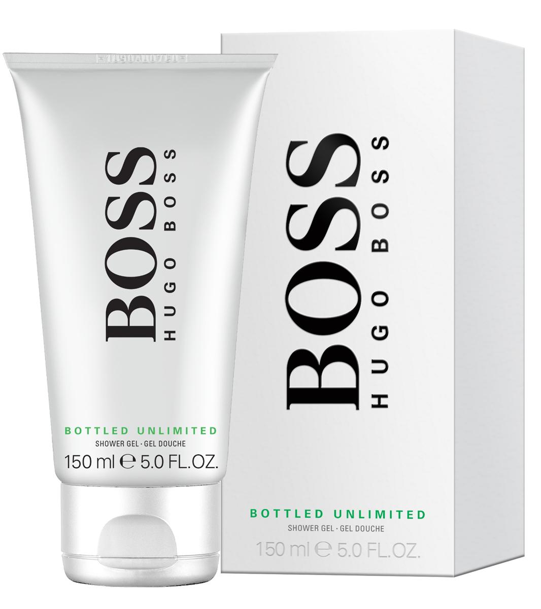 "Hugo Boss ""Bottled Unlimited"" Гель для душа 150 мл 0730870164495"