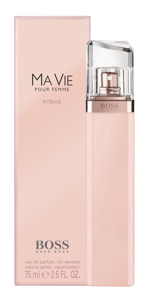 Hugo Boss Ma Vie Intense Парфюмерная вода женская75 мл0730870171219BOSS MA VIE Pour Femme вдохновлен независимым характером женщины, которая берет паузу, чтобы насладиться простыми радостями жизни: прогулкой на закате, лучами солнца на коже, ароматом цветов. Эти мгновения, когда начинаешь ценить настоящее, BOSS MA VIE Pour Femme поможет наполнить пленительной осязаемой женственностью и уверенностью в себе. Уникальный, свежий, соблазнительный и чарующий аромат и его композиция заставляют научиться ценить свою жизнь, дорожить и наслаждаться каждой минутой. Ноты: букет из розовых бутонов, кедровое дерево, цветок кактуса. Стиль: соблазнительный, свежий, уникальный, чарующий. Аромат: цветочно-фруктовый.