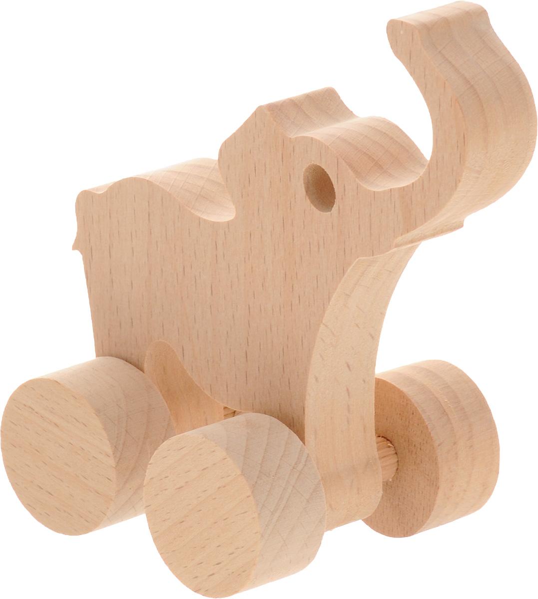 Волшебный городок Игрушка-каталка СлоникКСБДеревянная игрушка-каталка Волшебный городок Слоник развивает моторику ребенка, логику, пространственное мышление, зрительное восприятие и внимание малыша. Игрушка выполнена из высококачественного дерева, что абсолютно исключает вероятность травмирования. Понравится каждому малышу и станет хорошим подарком.