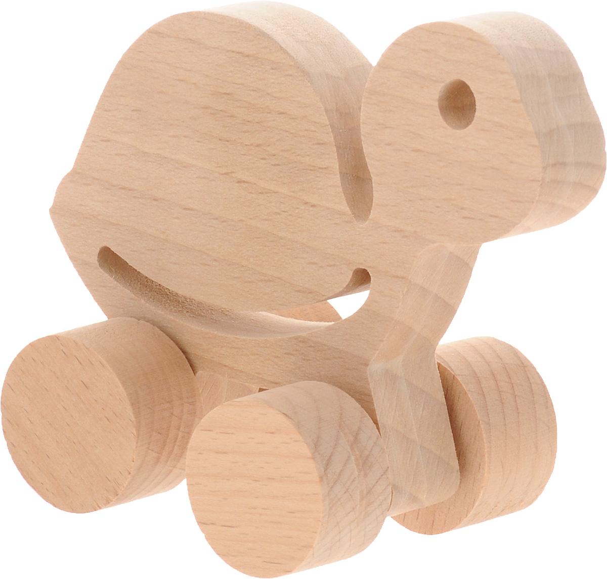 Волшебный городок Игрушка-каталка ЧерепашкаКЧБДеревянные игрушки Волшебный городок развивают моторику ребенка, логику, пространственное мышление, зрительное восприятие и внимание малыша. Игрушка-каталка Черепашка выполнена из высококачественного дерева (бука). Колеса игрушки имеют свободный ход. Игрушка-каталка непременно понравится вашему ребенку, подойдет для игры как дома, так и на свежем воздухе.