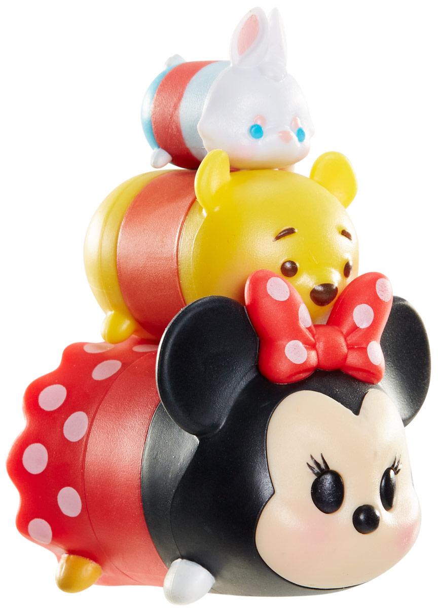 Tsum Tsum Набор фигурок Белый кролик Винни Минни980080_137/ 147/106Tsum Tsum - это небольшие коллекционные фигурки, изображающие различных персонажей детских мультфильмов Дисней. Они очень яркие, качественно сделаны и выглядят весьма привлекательно. В набор входят 3 фигурки разных размеров. Отличительной особенностью игрушек является то, что их можно сцеплять друг с другом, усаживая на спины - таким образом, у вас получится подобие оригинальной башенки. Соберите целую коллекцию фигурок! В наборе фигурки под номерами 137, 147, 106.