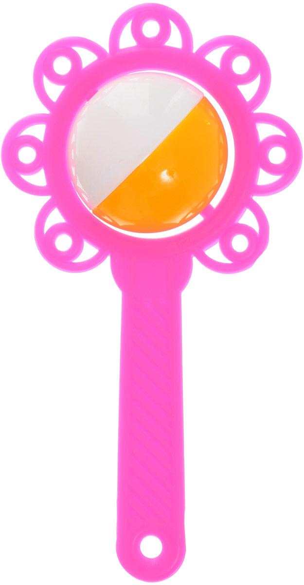 Аэлита Погремушка Цветок цвет розовый2С272_розовыйЯркая погремушка Аэлита Цветок не оставит вашего малыша равнодушным и не позволит ему скучать! Игрушка представляет собой пластиковый цветочек, внутри которого расположен небольшой шарик, выполняющий роль погремушки. Удобная форма ручки погремушки позволит малышу с легкостью взять и держать ее. Яркие цвета игрушки направлены на развитие мыслительной деятельности, цветовосприятия, тактильных ощущений и мелкой моторики рук ребенка, а элемент погремушки способствует развитию слуха.