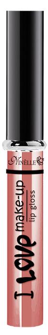 Ninelle Блеск для губ I Love Make-Up № 02, 7мл